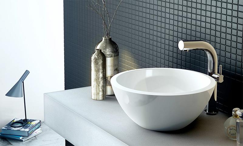 Раковина подстольного монтажа в ванную